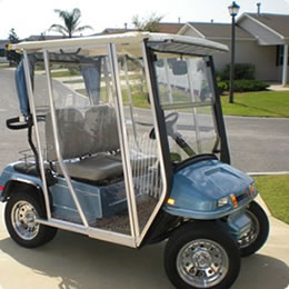 Golf Buggy Enclosure