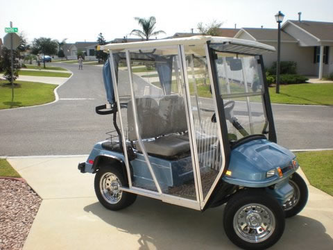 Golf Cart Enclosures And Covers For The Usa Uk And Ireland